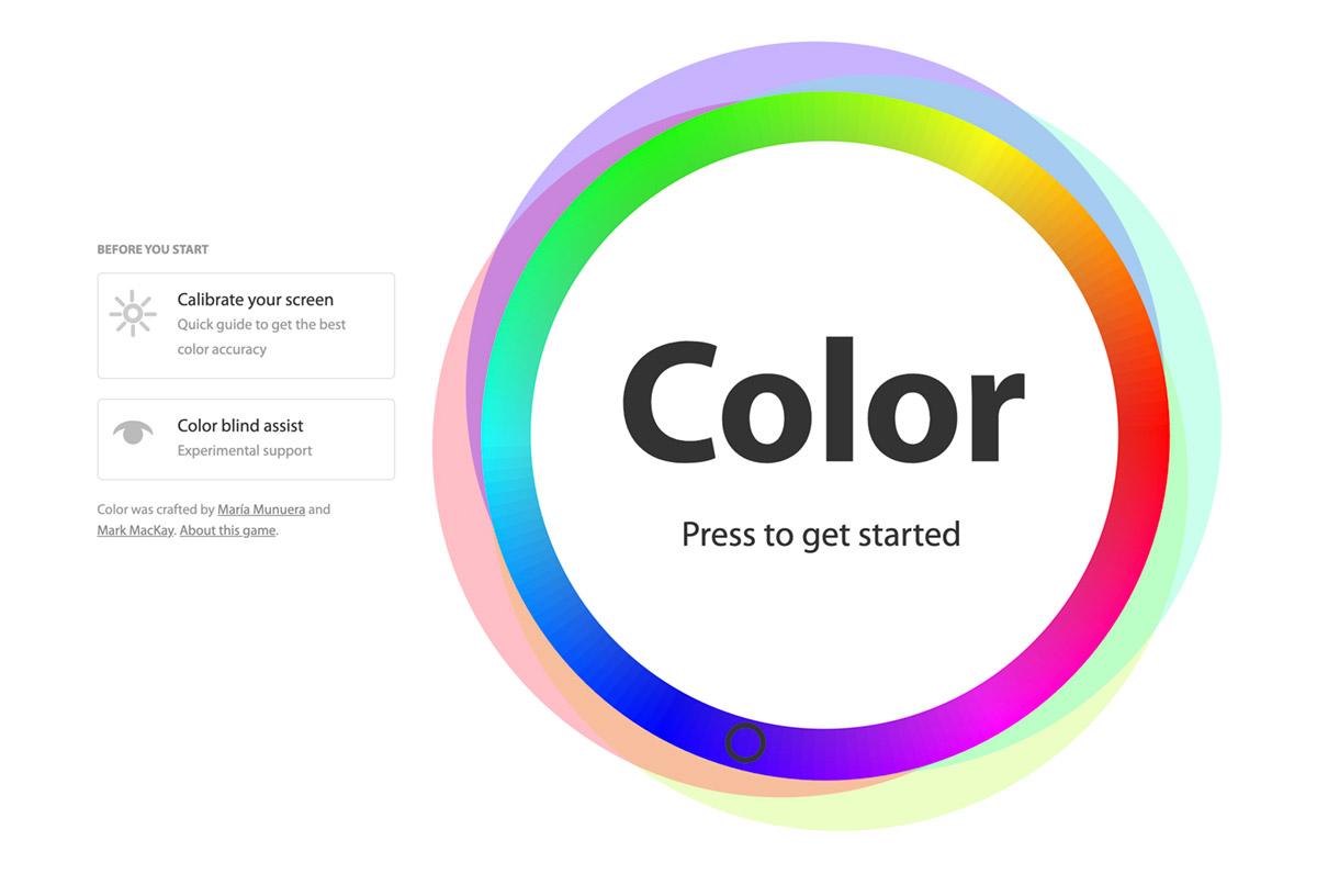 色相環から同じ色を探す!カラーチョイステスト